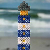 Melting Beads Lighthouse