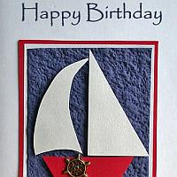 Sailboat Card for Men