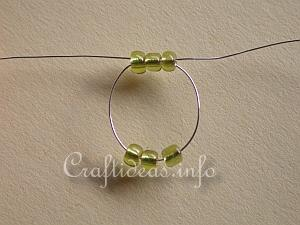 Beaded Ring Tutorial 2
