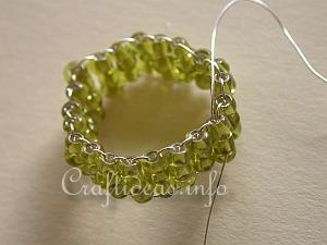 Beaded Ring Tutorial 8