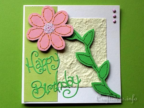 Flower Card D