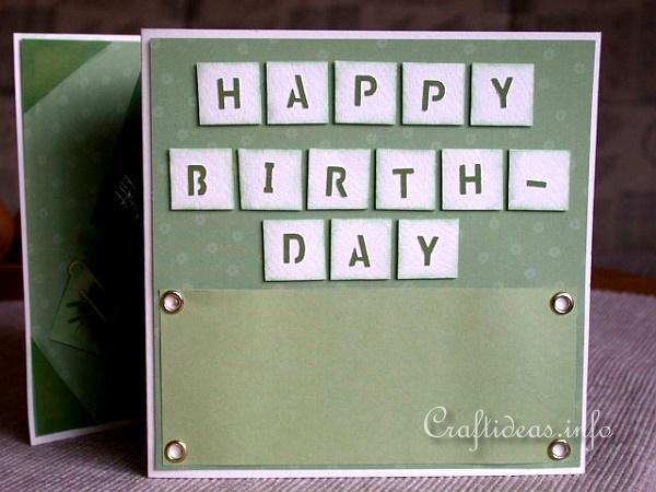 Birthday Cards - Greeting Cards - Accordian Folded Card - Page 4