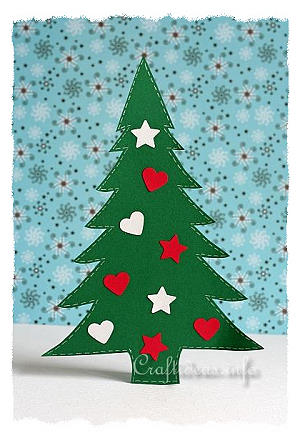 christmas paper craft for kids christmas tree - Childrens Christmas Tree Decorations
