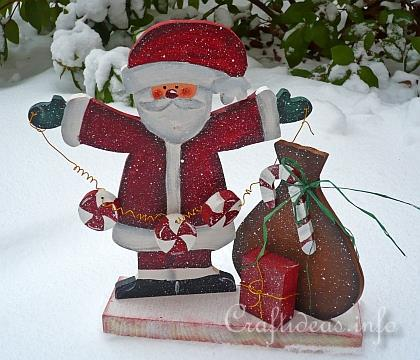Christmas Wood Craft - Santa Claus 2