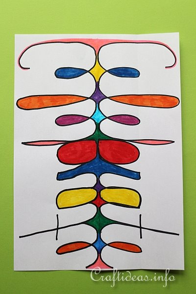 Colorful Abstract Art for Kids
