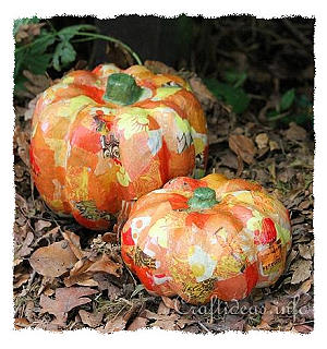 Decopage Pumpkins