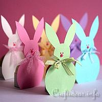 Free craft template for a paper easter bunny egg holder easter bunny paper egg holders pronofoot35fo Images