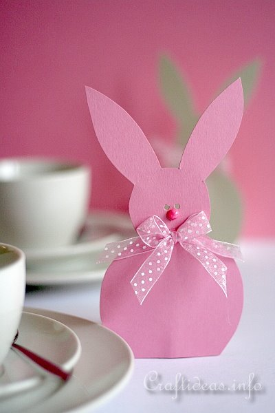 Easter Bunny Paper Egg Holders 4