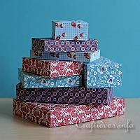 Easy to Make Gift Boxes