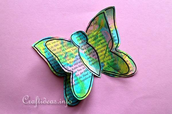Example of Paper Butterfly
