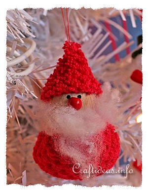 Fabric and Sewing Crafts - Christmas Crafts - Santa Decoration
