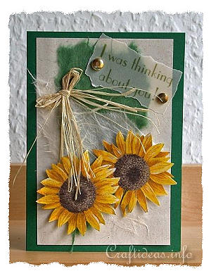 E C B C D A B E B furthermore Fall Greeting Or Birthday Card Sunflowers Card I Was Thinking About You likewise Dcf A Aff A B Ab F besides Burlap Flower additionally F A Adf A E F Ef C A Felt Crafts Patterns Wool Applique Patterns. on sunflower craft ideas 5