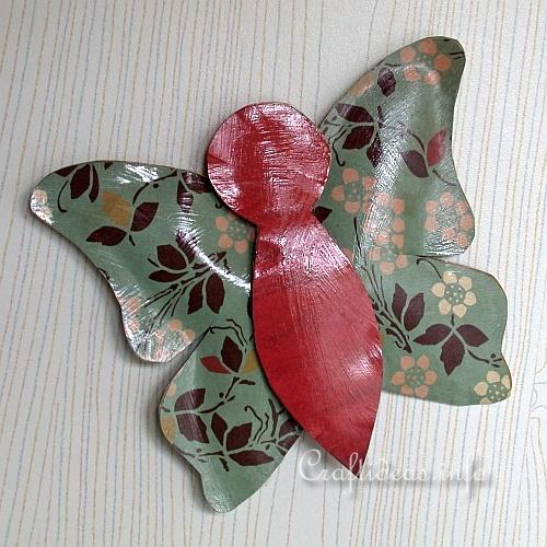 Faux Metal Butterfly