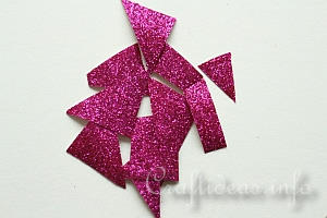 Glitter Paper Pieces
