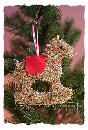 Horse Christmas Tree Ornaments