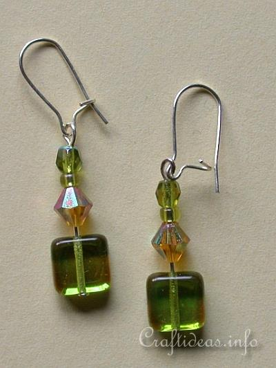 Free Jewelry Crafts And Jewelry Making Easy Beaded Earrings