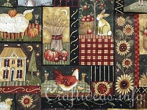 Kansas Song Fabric by Susan Winget for Benartex