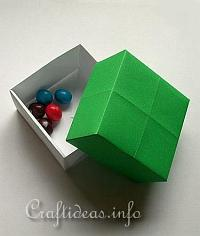 Paper Craft for Summer - Origami Gift Box Craft