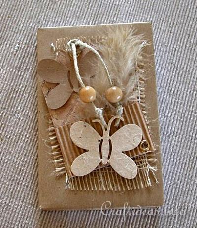 Creative Paper Crafts Altered Book Craft Idea