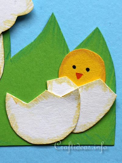 Paper Hen and Chick Decoration 2