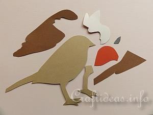 Paper Piecing Robin Tutorial 1