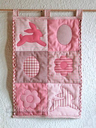 Patchwork and Quilting - Sewing Crafts - Small Patchwork Wall ... : craft quilt - Adamdwight.com