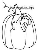 Free Autumn, Halloween and Thanksgiving Craft Patterns, Templates  and Coloring Book Pages 1