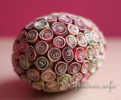 Quilled Paper Easter Eggs 3