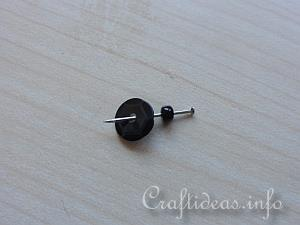 Sequins and Beads Lady Bug 5