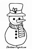 Free Coloring Book Pages on Christmas-Projects.com