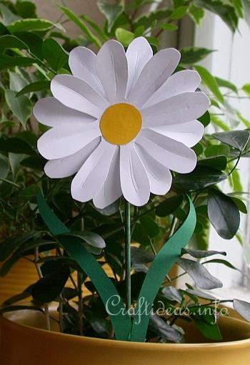 daisy craft ideas paper crafts for s day flowers 1836
