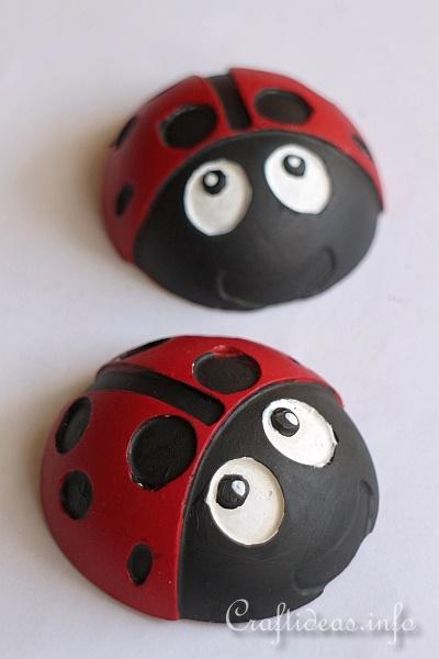 Summer Craft Idea - Lady Bug