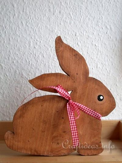 Wood Crafts For Spring And Easter