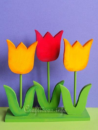 Wooden tulips woodworking plans and information at woodworkersworkshop wooden tulips solutioingenieria Images