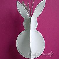 3-D Easter Bunny Craft