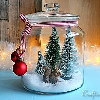 5-Minute Winter Decoration