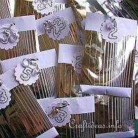 Advent Calendar - Silver Envelopes