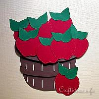 Apple Basket Wall Decoration
