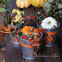 Autumnal Natural Decor