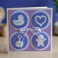 Card for the Birth of a Baby