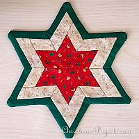 Christmas Craft - Patchwork Star