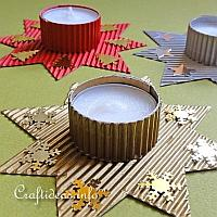 Christmas Star Tea Light Holder