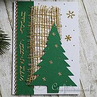 Christmas Tree Greeting Card for the Holidays