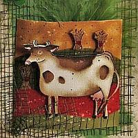 Country Cow all Occasion Card