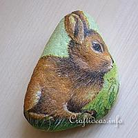 Easter Bunny Paper Weight