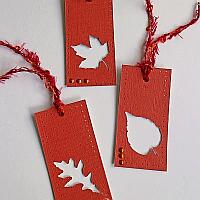 Fall Leaf Gift Tags