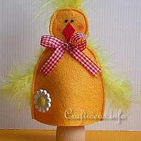Felt Chick Egg Warmer