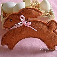 Felt Easter Bunny Project