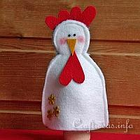Felt Hen Egg Warmer