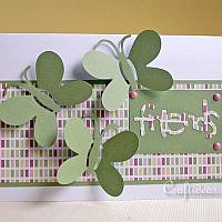 Friendship Card with Butterflies for all Occasions 2